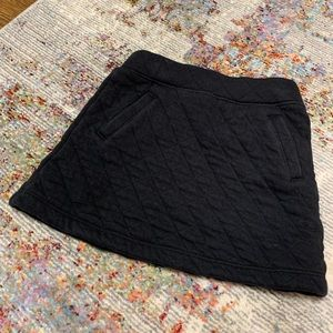 Janie and jack black skirt 3t guc